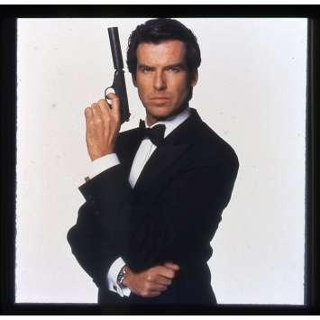 GOLDENEYE Original Transparent - 2x2 in. - 1995 - James Bond, Pierce Brosman