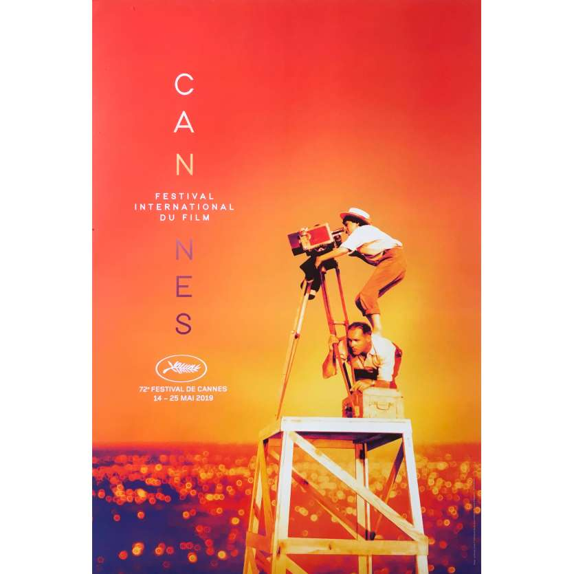 CANNES FESTIVAL 2019 Original Movie Poster - 15x21 in. - 2016 - Agnès Varda, Nouvelle Vague