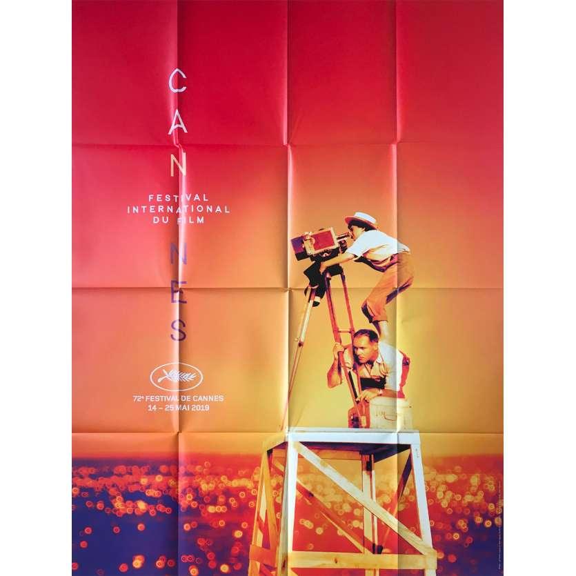 CANNES FESTIVAL 2019 Original Movie Poster - 47x63 in. - 2016 - Agnès Varda, Nouvelle Vague