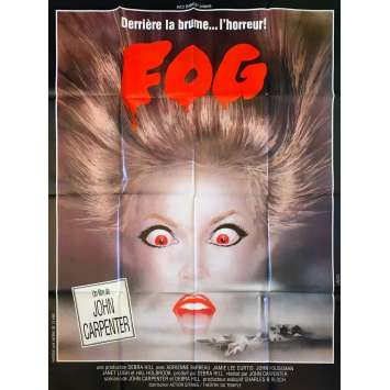 FOG French Movie Poster 47x63 - 1979 - John Carpenter, Jamie Lee Curtis
