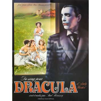 BLOOD FOR DRACULA Movie Poster 23x32 in. - 1974 - Paul Morrissey, Joe Dallesandro