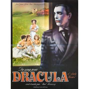 DU SANG POUR DRACULA Affiche de film 60x80 cm - 1974 - Joe Dallesandro, Paul Morrissey