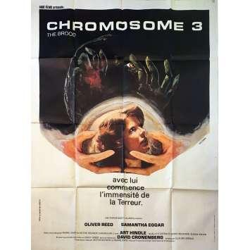 CHROMOSOME 3 Affiche de film 120x160 - 1979 - Oliver Reed, David Cronenberg
