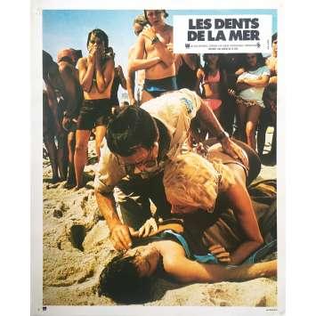 LES DENTS DE LA MER Photo de film N05 - 21x30 cm. - 1975 - Roy Sheider, Steven Spielberg