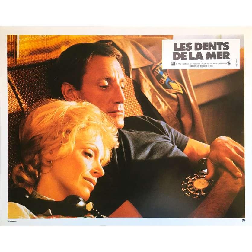 LES DENTS DE LA MER Photo de film N5 21x30 - 1975 - Roy Sheider, Steven Spielberg