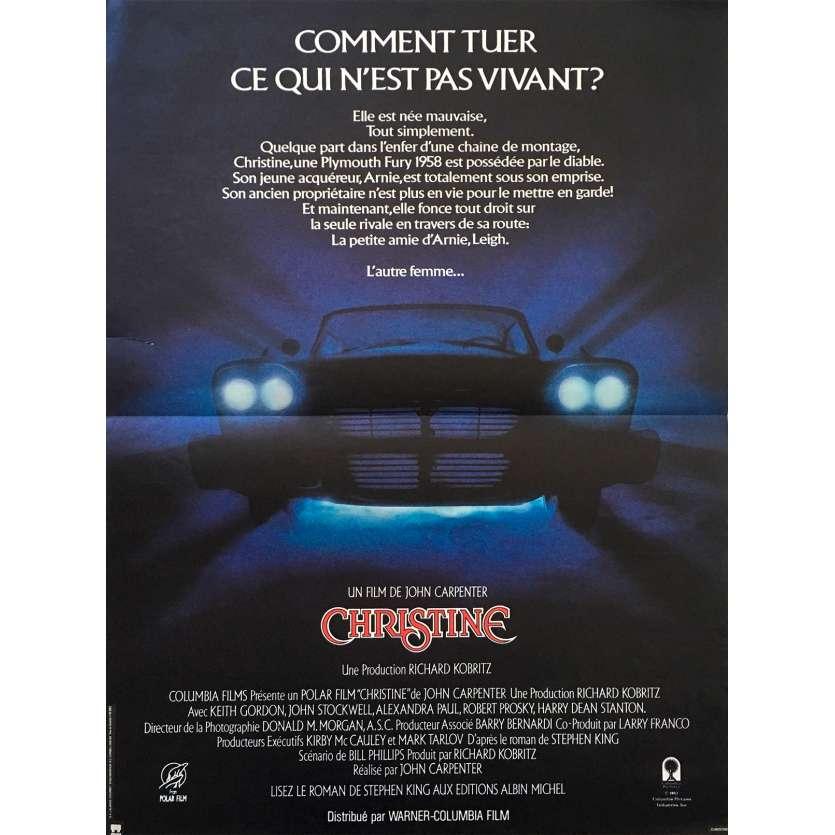 CHRISTINE Movie Poster 15x21 '83 John Carpenter
