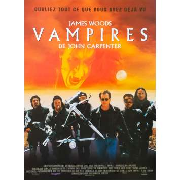 VAMPIRES Affiche de film 40x60 - 1998 - James Woods, John Carpenter