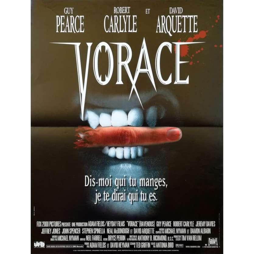 VORACE Affiche de film 40x60 - 1999 - Guy Pearce, Antonia Bird
