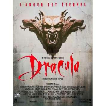 BRAM STOKER'S DRACULA Movie Poster 15x21 in. French - 1992 - Francis Ford Coppola, Gary Oldman, Winona Ryder