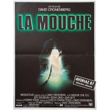 LA MOUCHE Affiche de film - 40x60 cm. - 1986 - Jeff Goldblum, David Cronenberg