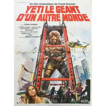 YETI GIANT OF THE 20TH CENTURY Original Movie Poster - 15x21 in. - 1977 - Gianfranco Parolini, Antonella Interlenghi