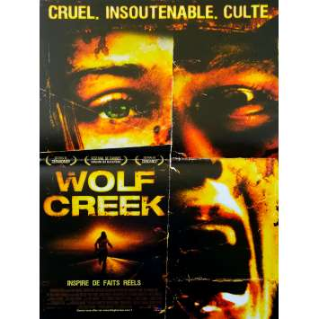 WOLF CREEK Original Movie Poster - 15x21 in. - 2005 - Greg McLean, Nathan Phillips
