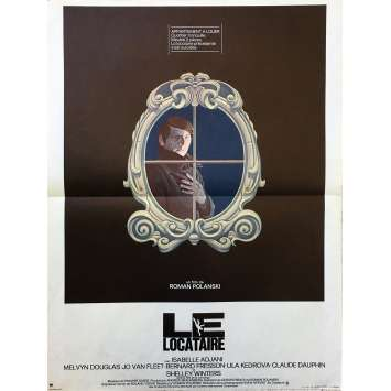 THE TENANT Original Movie Poster - 15x21 in. - 1976 - Roman Polanski, Isabelle Ajjani