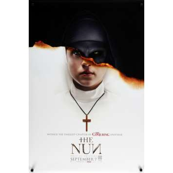 THE NUN Original Movie Poster - 27x40 in. - 2018 - Corin Hardy, Demián Bichir