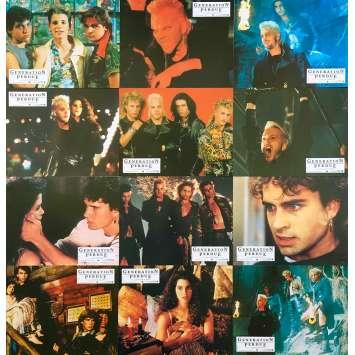 THE LOST BOYS Original Lobby Cards x12 - 9x12 in. - 1987 - Joel Schumacher, Kieffer Sutherland
