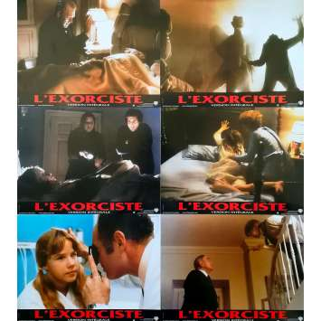 THE EXORCIST Original Lobby Cards x6 - 9x12 in. - R2000 - William Friedkin, Max Von Sidow