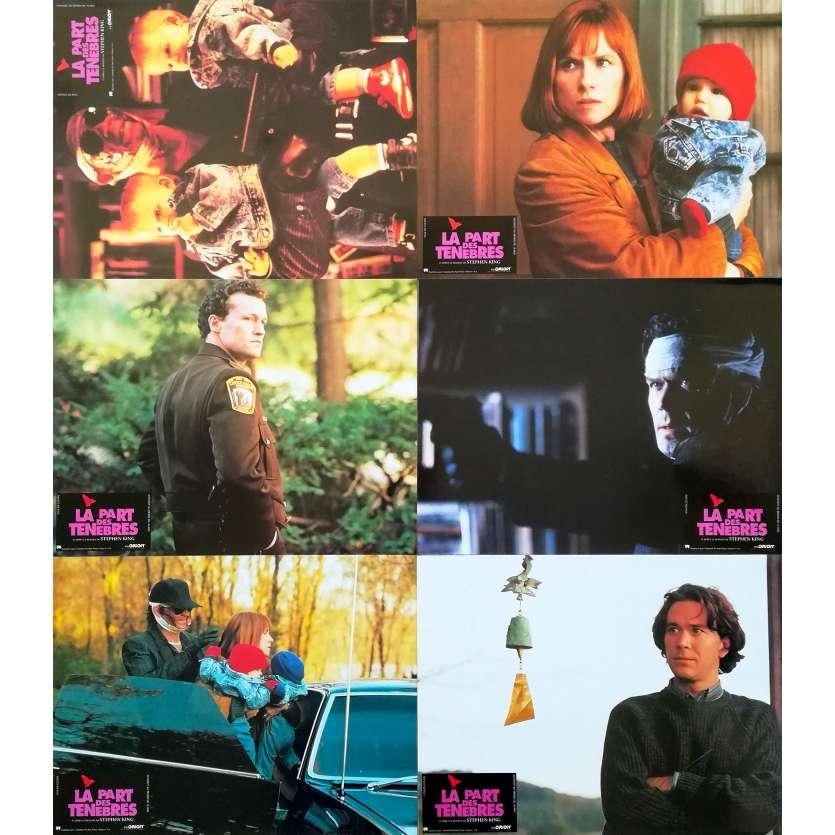 THE DARK HALF Original Lobby Cards x6 - 9x12 in. - 1993 - George A. Romero, Timothy Hutton