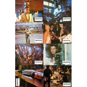 THE BELIEVERS Original Lobby Cards x8 - 9x12 in. - 1987 - John Schlesinger, Martin Sheen