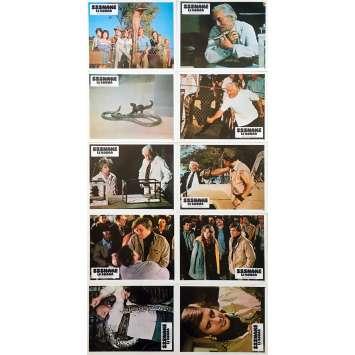 SSSSNAKE Original Lobby Cards x10 - 9x12 in. - 1973 - Bernard L. Kowalski, Dirk Benedict