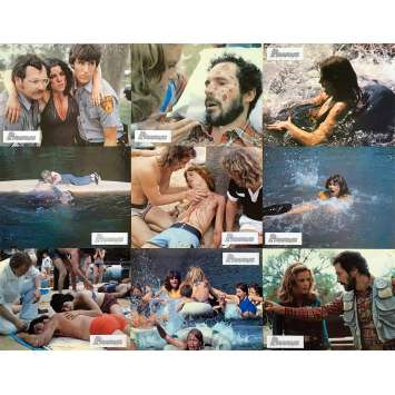 PIRANHA Photos de film x9 - 21x30 cm. - 1978 - Kevin McCarthy, Joe Dante