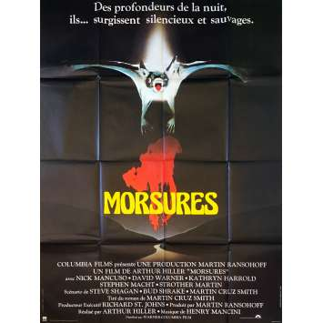 MORSURES Affiche de film - 120x160 cm. - 1979 - David Warner, Arthur Hiller