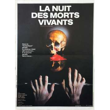NIGHT OF THE LIVING DEAD Original Movie Poster - 15x21 in. - 1968 - George A. Romero, Duane Jones