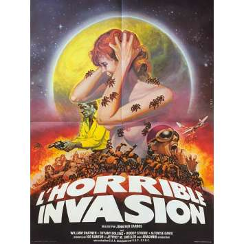 L'HORRIBLE INVASION Affiche de film - 60x80 cm. - 1977 - William Shatner, John Bud Cardos