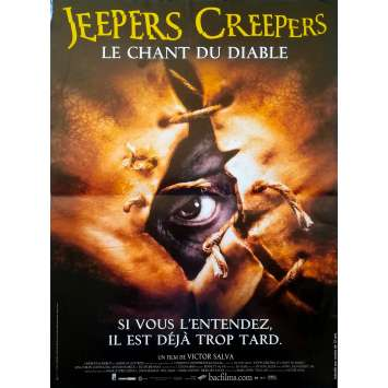 JEEPERS CREEPERS Original Movie Poster - 15x21 in. - 2001 - Victor Salva, Gina Philips