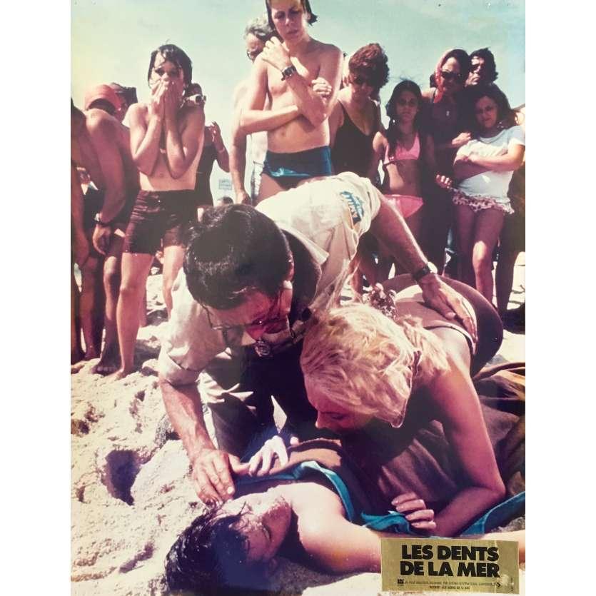 LES DENTS DE LA MER Photo de film N11 - 30x40 cm. - 1975 - Roy Sheider, Steven Spielberg