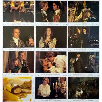 INTERVIEW WITH THE VAMPIRE Original Lobby Cards x12 - 9x12 in. - 1994 - Neil Jordan, Tom Cruise