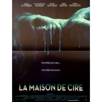 HOUSE OF WAX Original Movie Poster - 15x21 in. - 2005 - Jaume Collet-Serra, Paris Hilton