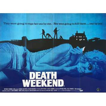 WEEK-END SAUVAGE Affiche de film - 76x102 cm. - 1976 - Brenda Vaccaro, William Fuet