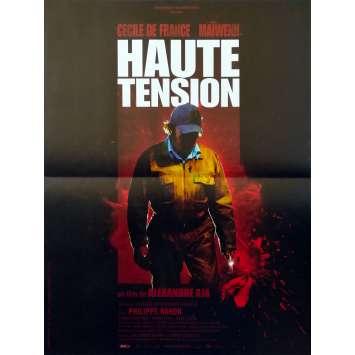 HIGH TENSION Original Movie Poster - 15x21 in. - 2003 - Alexandre Aja, Cécile de France