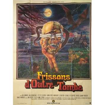 FRISSONS D'OUTRE TOMBE Affiche de film - 120x160 cm. - 1974 - Peter Cushing, Kevin Connor