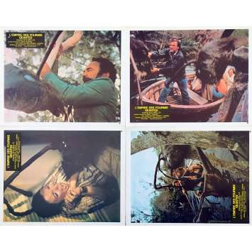 EMPIRE OF THE ANTS Original Lobby Cards x4 - 9x12 in. - 1977 - Bert I. Gordon, Joan Collins