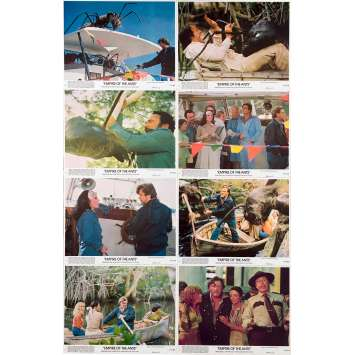 EMPIRE OF THE ANTS Original Lobby Cards x8 - 8x10 in. - 1977 - Bert I. Gordon, Joan Collins