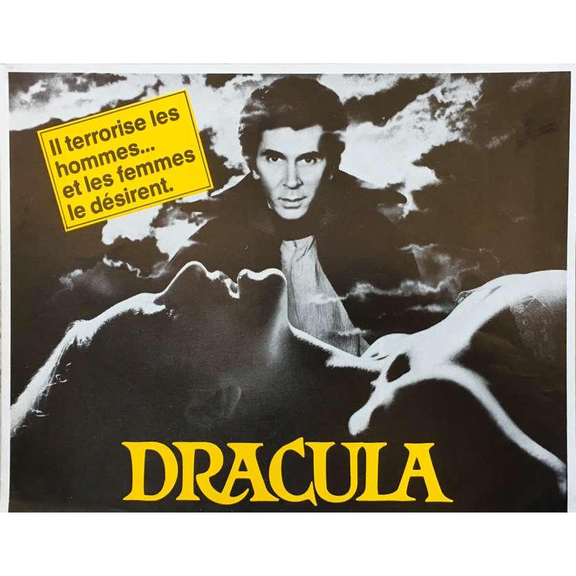 DRACULA Original Herald - 9x12 in. - 1979 - John Badham, Frank Langella