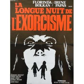 LA LONGUE NUIT DE L'EXORCISME Affiche de film - 40x60 cm. - 1972 - Florinda Bolkan, Lucio Fulci