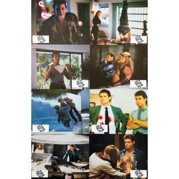 DEAD HEAT Original Lobby Cards x8 - 9x12 in. - 1988 - Mark Goldblatt, Treat Williams