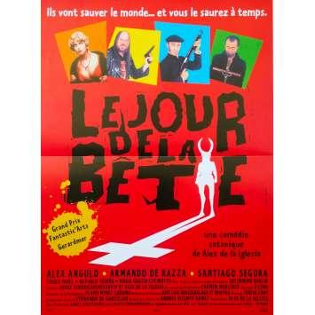 LE JOUR DE LA BETE Affiche de film - 40x60 cm. - 1995 - Alex Angulo, Alex de la Iglesia