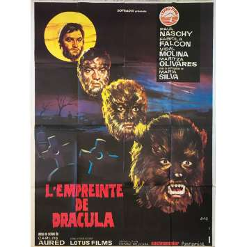 CURSE OF THE DEVIL Original Movie Poster - 47x63 in. - 1973 - Carlos Aured, Paul Naschy