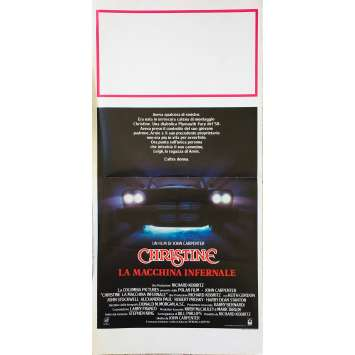 CHRISTINE Affiche de film - 33x71 cm. - 1983 - Keith Gordon, John Carpenter