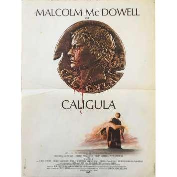 CALIGULA Affiche de film - 40x60 cm. - 1979 - Malcom McDowell, Tinto Brass