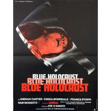 BLUE HOLOCAUST Affiche de film - 40x60 cm. - 1979 - Kieran Canter, Joe D'Amato