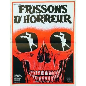 FRISSONS D'HORREUR Affiche de film - 40x60 cm. - 1975 - Mimsy Farmer, Armando Crispino