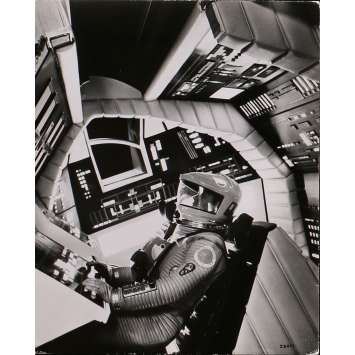 2001 L'ODYSSEE DE L'ESPACE Photo de presse N16 - 20x25 cm. - 1968 - Keir Dullea, Stanley Kubrick