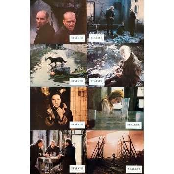 STALKER Original Lobby Cards - 9x12 in. - 1979 - Andreï Tarkovski, Alexandre Kaïdanovski