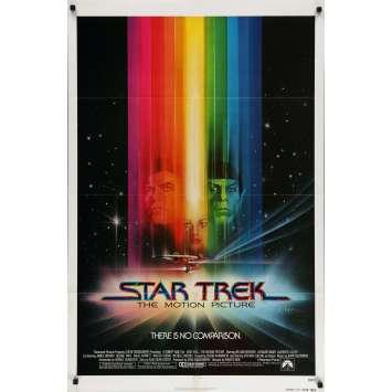 STAR TREK Affiche de film - 69x102 cm. - 1979 - William Shatner, Robert Wise