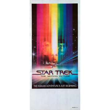 STAR TREK Affiche de film - 33x78 cm. - 1979 - William Shatner, Robert Wise