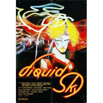 LIQUID SKY Original Movie Poster - 27x40 in. - 1982 - Slava Tsukerman, Anne Carlisle